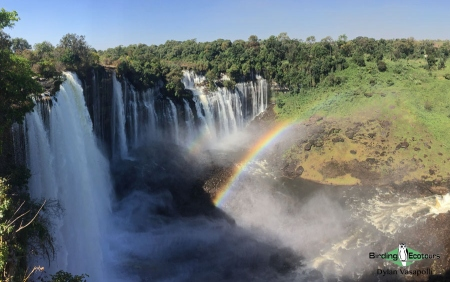 The stunning Kalandula Falls are one of the hallmark attractions to the country